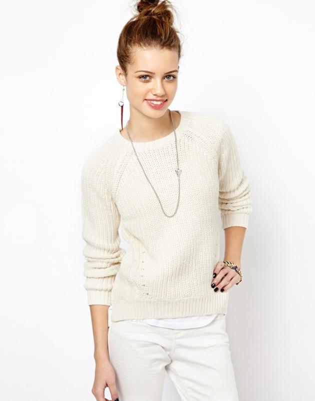cream knit 1