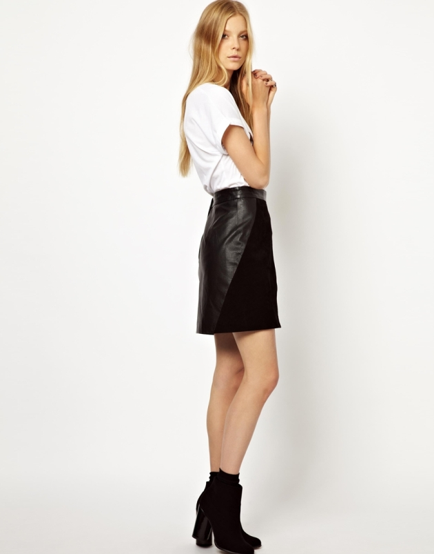 monki suede leather